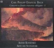Carl Philipp Emanuel Bach (1714-1788): Flötenkonzerte Wq.22,167,169, CD