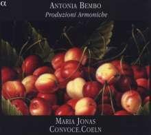 Antonia Bembo (1640-1710): Produzioni Armoniche, CD