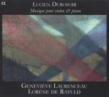 Lucien Durosoir (1878-1955): Sonate für Violine & Klavier (1921), CD