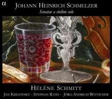 Johann Heinrich Schmelzer (1623-1680): Violinsonaten, CD