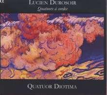 Lucien Durosoir (1878-1955): Streichquartette Nr.1-3, CD