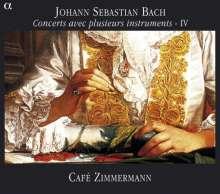 Johann Sebastian Bach (1685-1750): Concerts avec plusieurs instruments Vol.4, CD