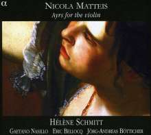 Nicola Matteis (1650-1714): Ayres for the Violin, CD