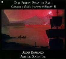Carl Philipp Emanuel Bach (1714-1788): Flötenkonzerte Wq.13,166,168, CD