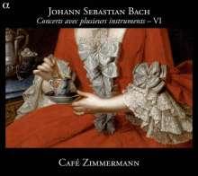 Johann Sebastian Bach (1685-1750): Concerts avec plusieurs instruments Vol.6, CD