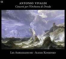Antonio Vivaldi (1678-1741): Concerti per I`Orchestra di Dresda Vol.1, CD