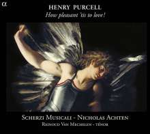 "Henry Purcell (1659-1695): Lieder ""How pleasant `tis to love"", CD"