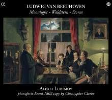 Ludwig van Beethoven (1770-1827): Klaviersonaten Nr.14,17,21, CD