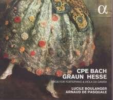 Lucile Boulanger & Arnaud de Pasquale - Trios für Hammerklavier & Viola da Gamba, CD