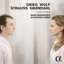 Mari Eriksmoen & Alphonse Cemin - Grieg / Wolf / Strauss / Gröndahl, CD