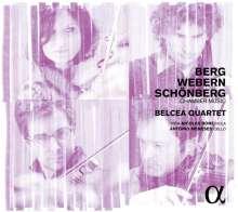 Belcea Quartet - Berg, Webern, Schönberg, CD