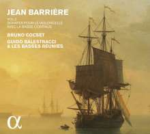 Jean-Baptiste Barriere (1707-1747): Sonaten für Cello & Bc Vol.2, CD