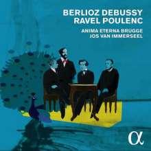 Französische Orchesterwerke (Anima Eterna Brugge), 5 CDs