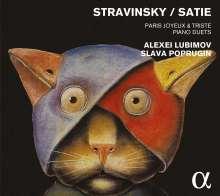 Igor Strawinsky (1882-1971): Werke für 2 Klaviere - Paris Joyeux & Triste, CD