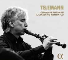 Georg Philipp Telemann (1681-1767): Blockflötenkonzert C-Dur, CD