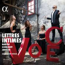 Quatuor Voce - Lettres Intimes, CD