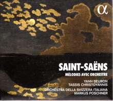 Camille Saint-Saens (1835-1921): Orchesterlieder, CD