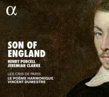 Jeremiah Clarke (1674-1707): Ode on the Death of Henry Purcell, CD