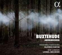 Dieterich Buxtehude (1637-1707): Abendmusiken (5 Kantaten), CD