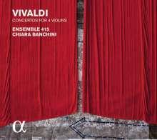 """Antonio Vivaldi (1678-1741): Concerti op.3 Nr.1,4,7,10 """"L'estro Armonico"""", CD"""