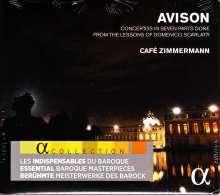 Charles Avison (1709-1770): Concerti nach D.Scarlatti Nr.3,5,6,9,11,12, CD