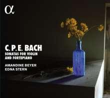 Carl Philipp Emanuel Bach (1714-1788): Sonaten für Violine & Klavier Wq.76-78, CD