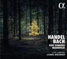 Georg Friedrich Händel (1685-1759): Dixit Dominus HWV 232, CD