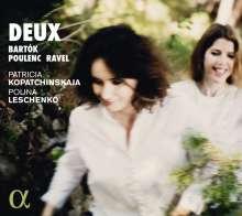 Patricia Kopatchinskaja & Polina Leschenko - Deux, CD