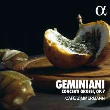 Francesco Geminiani (1687-1762): Concerti grossi op.7 Nr.1-6, CD