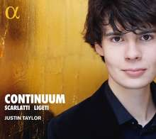 Justin Taylor - Continuum, CD