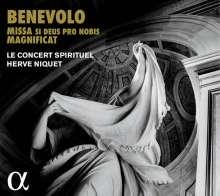Orazio Benevoli (1605-1672): Missa Si Deus pro nobis (a 16 voci), Super Audio CD