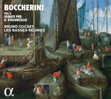 Luigi Boccherini (1743-1805): Sonaten für Cello & Bc, CD