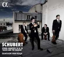 Franz Schubert (1797-1828): Streichquartette Nr.10 & 14, CD