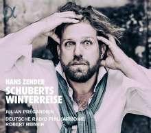 Hans Zender (1936-2019): Schuberts Winterreise, CD