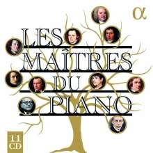 Les Maitres Du Piano, 11 CDs