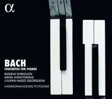 Johann Sebastian Bach (1685-1750): Klavierkonzerte BWV 1052,1055,1056,1058,1060-1065, 2 CDs
