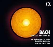 Johann Sebastian Bach (1685-1750): Kantaten BWV 82 & 169, CD