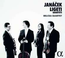 Belcea Quartet - Janacek & Ligeti, CD