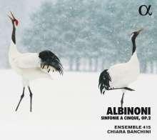 Tomaso Albinoni (1671-1751): Sinfonie a Cinque op.2 Nr.1-6, CD