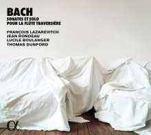 Johann Sebastian Bach (1685-1750): Flötensonaten BWV 1013,1030,1032,1034,1035, CD