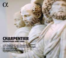 Marc-Antoine Charpentier (1643-1704): Vepres pour Saint Louis, CD
