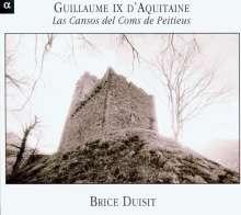 Guillaume IX d' Aquitaine (1071-1127): Chants de Troubadours, CD