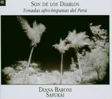 Son de Los Diablos - Tonadas afro-hispanas del Peru, CD