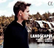 Andrew Tyson - Landscapes, CD