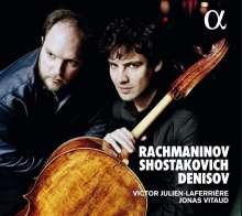 Victor Julien-Laferriere & Jonas Vitaud - Rachmaninoff / Schostakowitsch / Denisov, CD