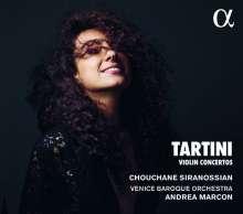Giuseppe Tartini (1692-1770): Violinkonzerte D.44,45,56,96, CD