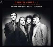Gabriel Faure (1845-1924): Kammermusik 2 - Klavierquartette, CD
