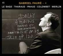Gabriel Faure (1845-1924): Kammermusik 4 - Kammermusik mit Klavier, CD