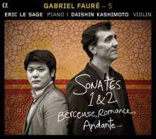 Gabriel Faure (1845-1924): Kammermusik 5 - Kammermusik für Violine & Klavier, CD