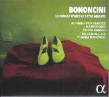 Giovanni Battista Bononcini (1670-1747): La Nemica d'Amore fatta Amante (Serenata a tre), CD
